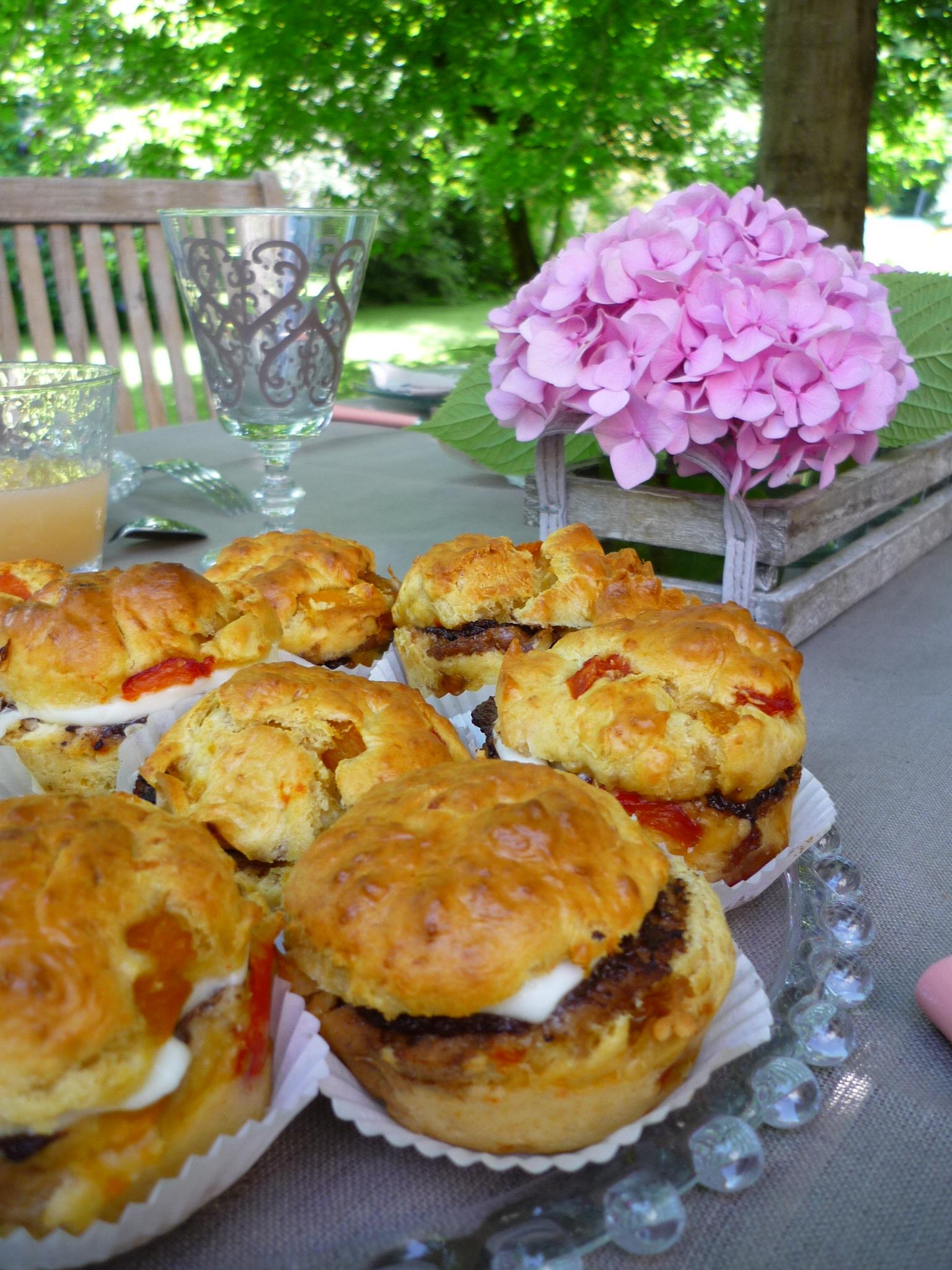 Muffins de poivrons, tapenade et mozarella dans 1.Apéritifs p1010811