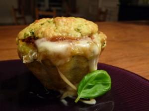 Muffins aux deux pesto et mozzarelle dans 1.Apéritifs muffins-300x225